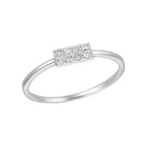 K18WGダイヤモンドリング 010201009179