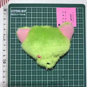 【gomi】オオカミ ブローチ