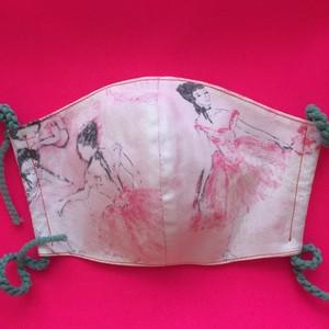 レディースファッションマスク 踊り子  2  (再販)