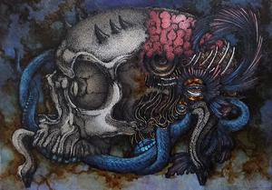 【er_i】 1 skull ornament