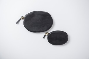 MUJI:coin case -16.(mini wallet)black