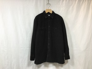 "UNIVERSAL PRODUCTS.""POLARTEC® FLEECE SHIRT BLACK"""
