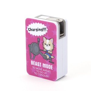 【BEASTMODE】2ポート USB-ACアダプタ全4種