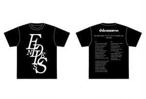 ENDLESS Tシャツ 黒(L)