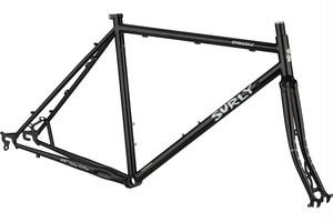 *SURLY* straggler  frame&fork set (black)