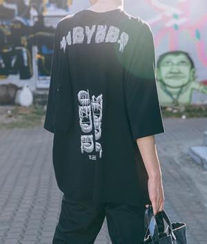 [売り切れ間近]BYデザインビックサイズTシャツ
