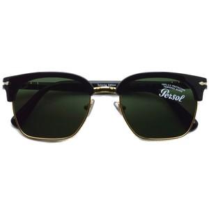 Persol ペルソール / 3199S Tailoring Edition / 95/31 ブラック-ダークグリーンガラスレンズ  サーモントブローサングラス