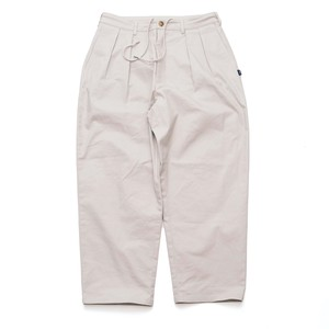 【CREAM】CHINO WIDE TAPERED PANTS