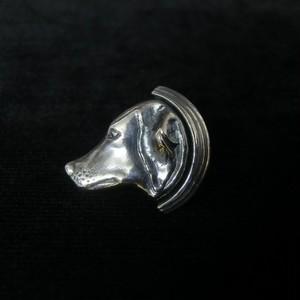 イヌのラペルピン -silver925-