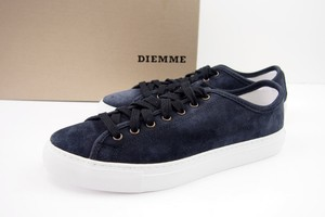 【Sold Out】ディエッメ|DIEMME|レザースリッポンスニーカー|VENTO LOW|39|ANTHRACITE DEER