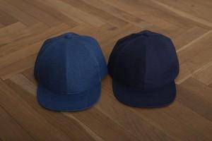 niuhans/ Indigo Linen Baseball Cap[L.Indigo/D.Indigo]