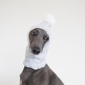 "reversible hood warmer ""femtweed × organic cotton fur"""