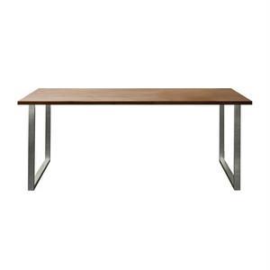 ミーシック ダイニングテーブル ウォールナット 1800