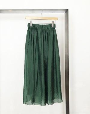sacra/ silk nylon organdie skirt