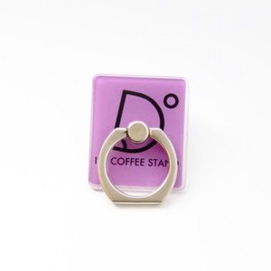 I'm coffee stand Mobile Ring ロゴ(パープル)