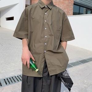 【FAST】シンプルワンポケットシャツ WBL6014