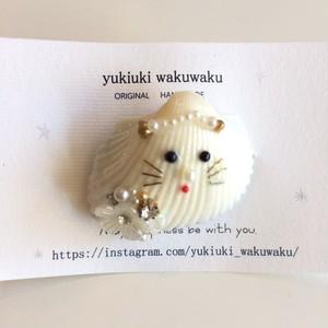 yukiuki wakuwaku 貝ネコリング