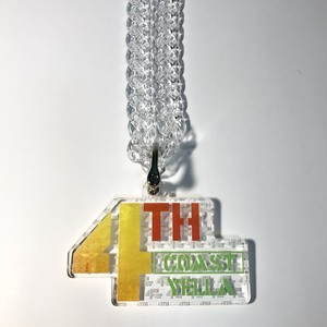 CHEAP BLING NECKLESS (4THC Yella Logo)