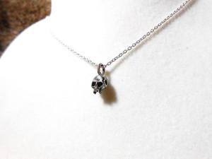 Minimum Skull Necklace