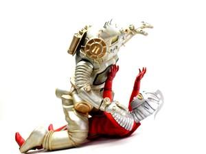 CCP1/6特撮シリーズ VOL.DX   商品名④宇宙ロボットキングジョー対セブン対決セット