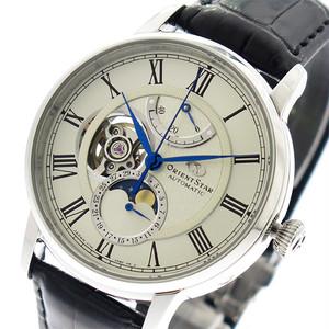 オリエントスター ORIENT STAR 腕時計 メンズ RK-AM0001S 自動巻き ホワイト ブラック 国内正規 ホワイト