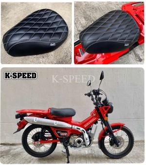 【CT002】Diablo seat cushions Diamond stripes for Honda CT125, year 2020