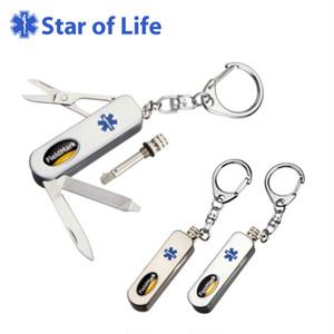 2827-26 2827-27 Star of Life スターオブライフ カークス 4つのミニツール&メタルマッチ