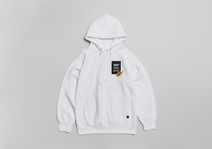 NOT TODAY SATAN 12oz PARKA   - WHT -