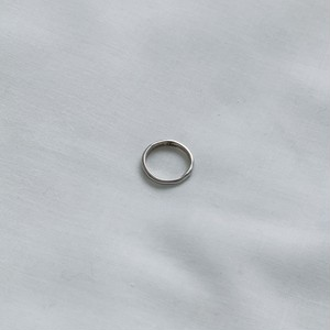 silver925 T(thin)ring 3号