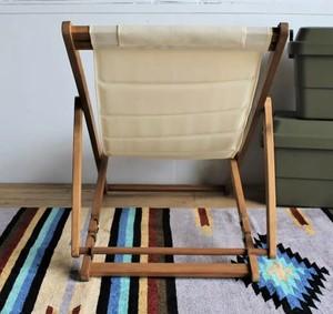 Outdoor Woody Deck Chair / アウトドア 折りたたみチェア
