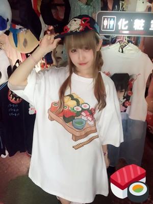 デジタルお寿司BIGTシャツ/Internet gang city