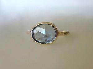 ロンドンブルートパーズの指輪Ⅳ