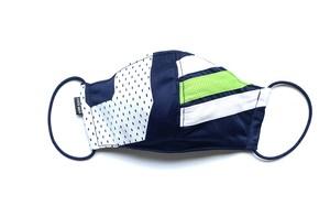 【夏用デザイナーズマスク 吸水速乾COOLMAX使用 日本製】SPORTS MIX MASK CTMR 0825151