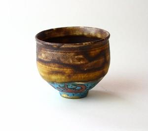 灰釉の小さい犬の器 / 陶芸 / 酒器 / 茶器 / ceramic / pottery japan