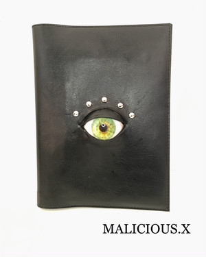 eye system note-book / a5  green