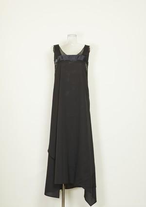 DEAR nagi yoshida アシンメトリーラップドレス