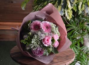 Bouquet  cherry pink