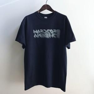HARDCORE AMBIENCE Logo T-shirt BLACK (送料込み)