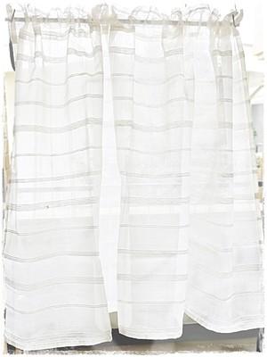 ♥ コットンチェック*ロッドポケットカーテン【W73×H103】 ♥ 現品限り セール中 !