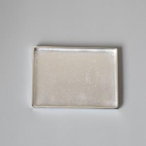 "Aluminium Tray Rectangle ""Large"" アルミニウム トレイ レクタングル ""ラージ"""