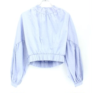 【GROUND ZERO】GATHERED CROPPED SHIRT