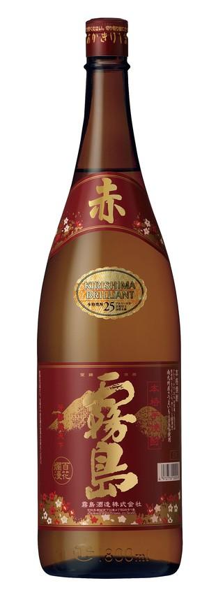 赤霧島25度1800ml瓶