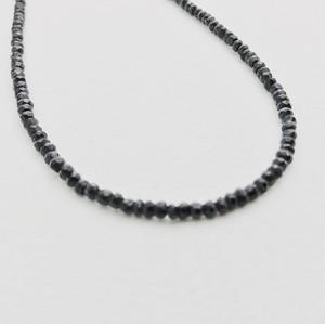 ブラックスピネル ネックレス 40㎝ 868stones