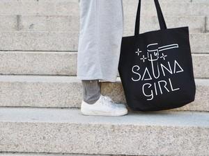 Saunagirl Logo ビッグサイズトート