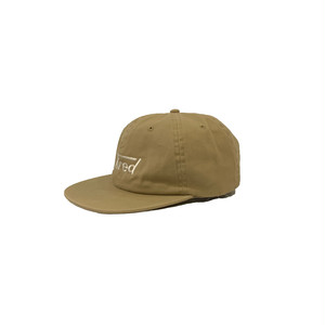 LONG LOGO SNAP BACK <khaki> 【TIRED】