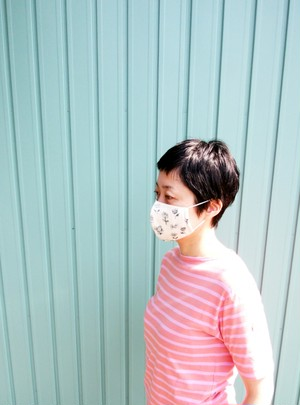 ガーゼマス/Cotton gauze mask