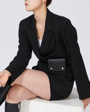 SUIT JACKET BELT BAG