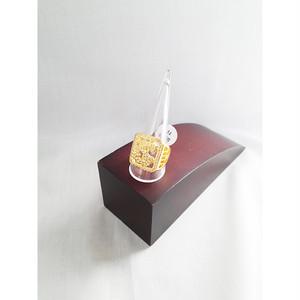 ドル $指輪 リング メンズ11号 ヒップホップ ゴールド 金 GOLD HIPHOP 481