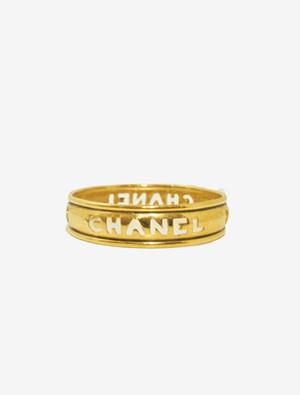 CHANEL GOLD BANGLE シャネル ゴールド バングル