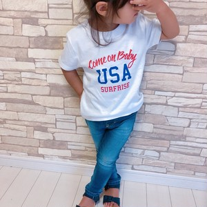 ★Kids★Come on baby USA Tee - White